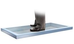 Flatglass Walk-on rooflight system