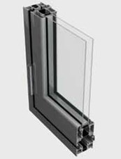 BSF70 Folding Door System - 3 Panel [Wall Placement]