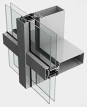 SL52 Curtain Walling System