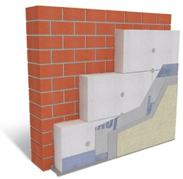 Adhesive Fixed External Wall Insulation System - Warm Wall Basis