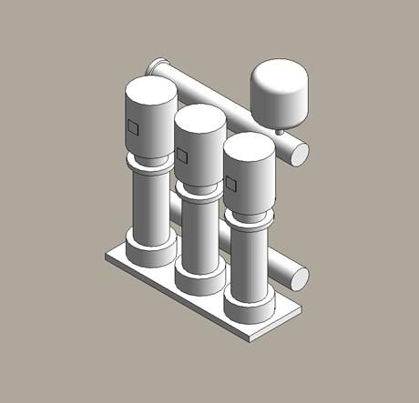Pressure booster sets