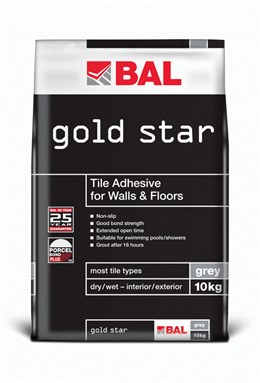 Gold Star - Tile adhesive