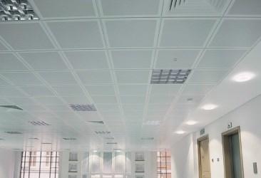 Tegular TypeC-Plain 600 x 600 x 8 mm - Suspended metal ceiling