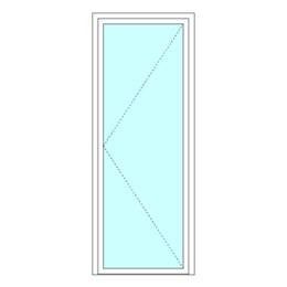 Single leaf doorset
