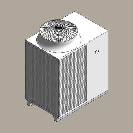 Gas absorption heat pump
