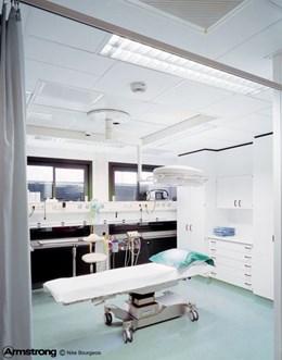 Bioguard Plain Board - Ceiling tile system