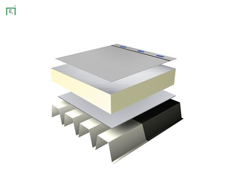 Ecoflex Single Ply PVC Waterproofing System - Tapered