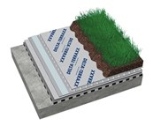 DELTA® TERRAXX in extensive green roofs