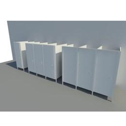 Panel cubicle