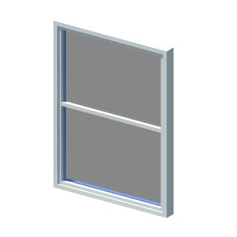 Window for flexible opening sizes