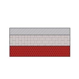 Tactile Precast Concrete Flags SandHighwaysUnboundMixture