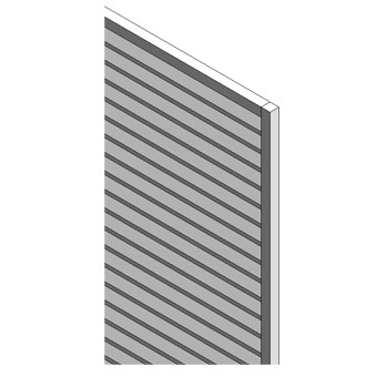 Louvre infill panel