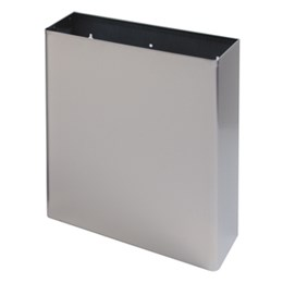 BC921 Dolphin Stainless Steel Surface Mounted Bins