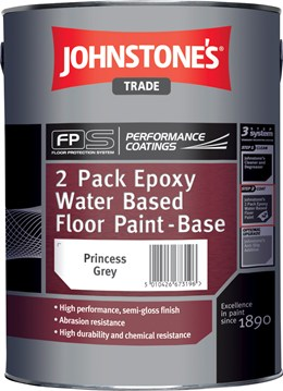 Two Pack Epoxy Water-Based Floor Paint