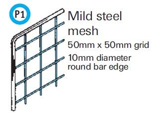 General Spectrum Balustrade System - Mild Steel Mesh