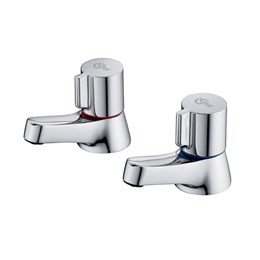 Alto Bath Pillar Taps