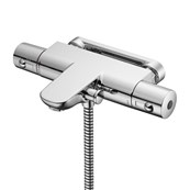 Alto Ecotherm Dual Control Two Hole Thermostatic Bath Shower Mixer