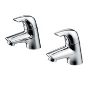 Ceraplan SL Bath Pillar Taps