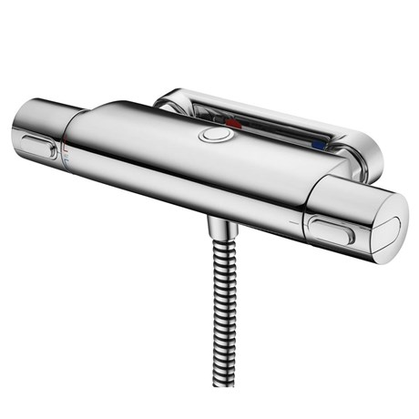 Ceratherm 100 Thermostatic Exposed Shower Mixer