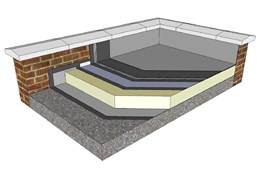 Sikalastic® 625 Liquid Applied Warm Roof System