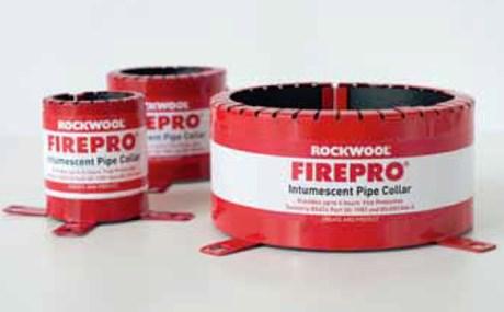 ROCKWOOL® FIREPRO® Firestop Pipe Collars