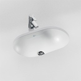 Concept Oval 48 cm Under-countertop Washbasin