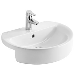 Concept Sphere 55 cm Semi-Countertop Washbasin