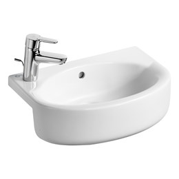 Concept Space Arc 50 cm Semi-Countertop Washbasin