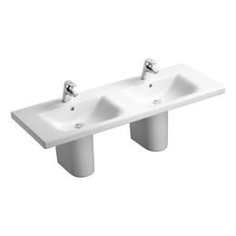 Concept 130 cm Double Vanity Washbasin