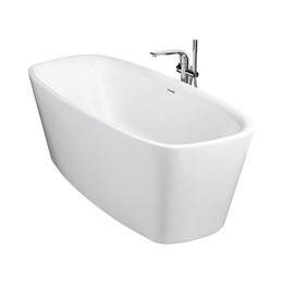 Dea 170x75 cm Freestanding Double-Ended Bath