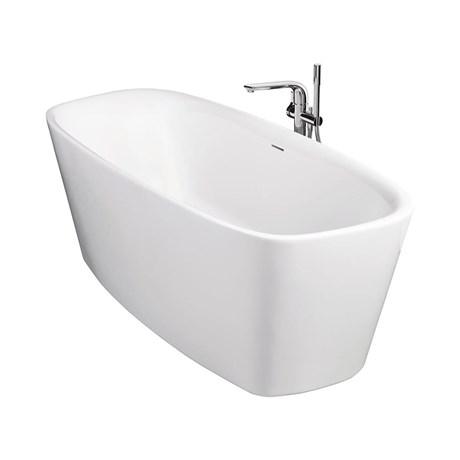 Dea 170x75 cm Freestanding Double-Ended Bath