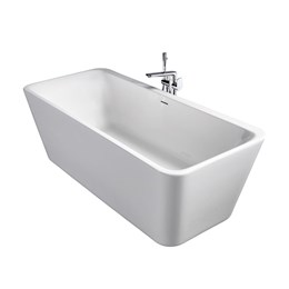 Tonic II 180 x 80 cm Freestanding Double Ended Bath