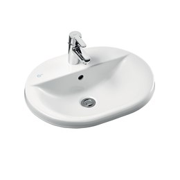 Concept Oval 55 cm Countertop Washbasin