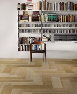 Net Effect B703 Skinny Planks - Pile carpet tiles