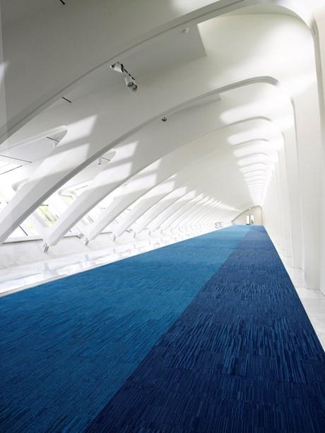 Net Effect B702 Skinny Planks - Pile carpet tiles