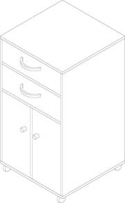 Health Care Bedside Locker