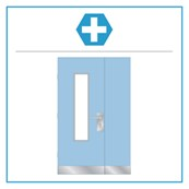 H11 Medica Select Unequal Pair Hardware Set