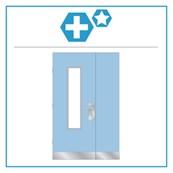 H14 Medica Premium Unequal Pair Hardware Set