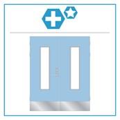 H15 Medica Premium Equal Pair Hardware Set