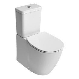 Santorini Bow Close Coupled Back To Wall WC Suitewith Aquablade technology