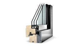 HF 210 Timber And Aluminium Window - Home Soft