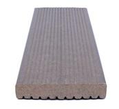 ecodek® Reversible Composite Decking Board - Heavy Duty Ribbed (HD)