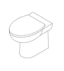 Pedestal WC
