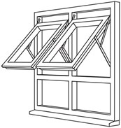 Fully Reversible Window System - FRW4