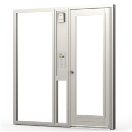 Communal Entrance Door w/ Access Control & Combination Screen