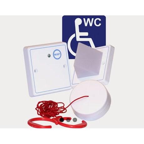 Care 2 Plastic Disabled Toilet Alarm Kit