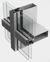 SL52 Curtain Walling System