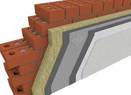 Wall System 1 - 120 mm Stone Wool