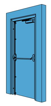 Single Metal Fire Exit Door  sc 1 st  NBS National BIM Library & Single Metal Fire Exit Door - NBS National BIM Library pezcame.com