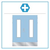 H12 Medica Select Equal Pair Hardware Set
